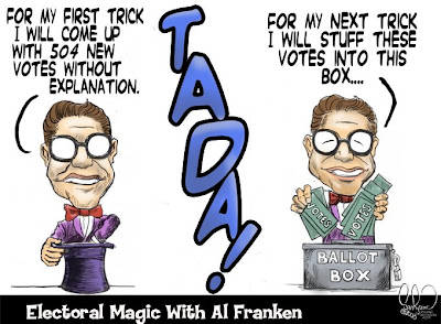 Al Franken's Magic Trick
