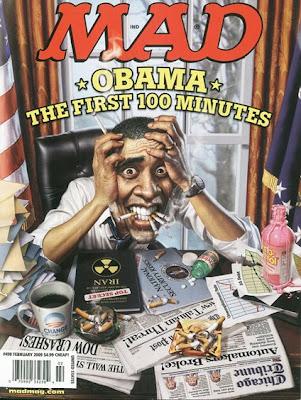 Obama MAD Cover
