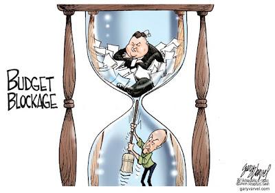 Budget Blockage