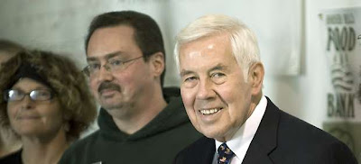 Dick Lugar in Bloomington