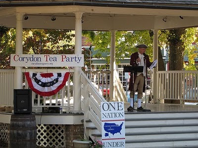 2010 Corydon Tea Party, Patriot Paul