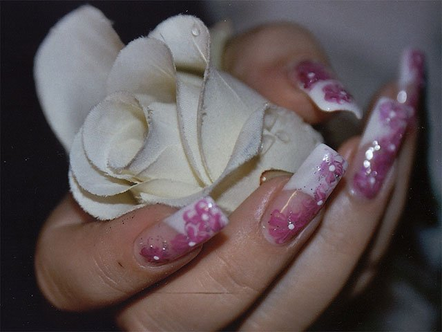Gel nails picture gallery.