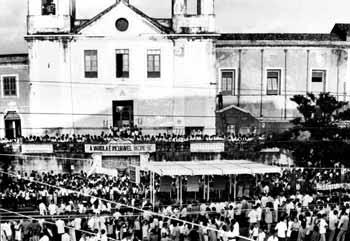 Manifestação durante a Revolta da Vacina