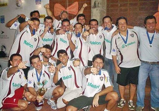 FLUMINENSE CAMPEÃO DO TROFÉU BRASIL/CORREIOS 2007