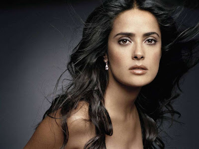 salma hayek breastfeeding. salma hayek breastfeeding
