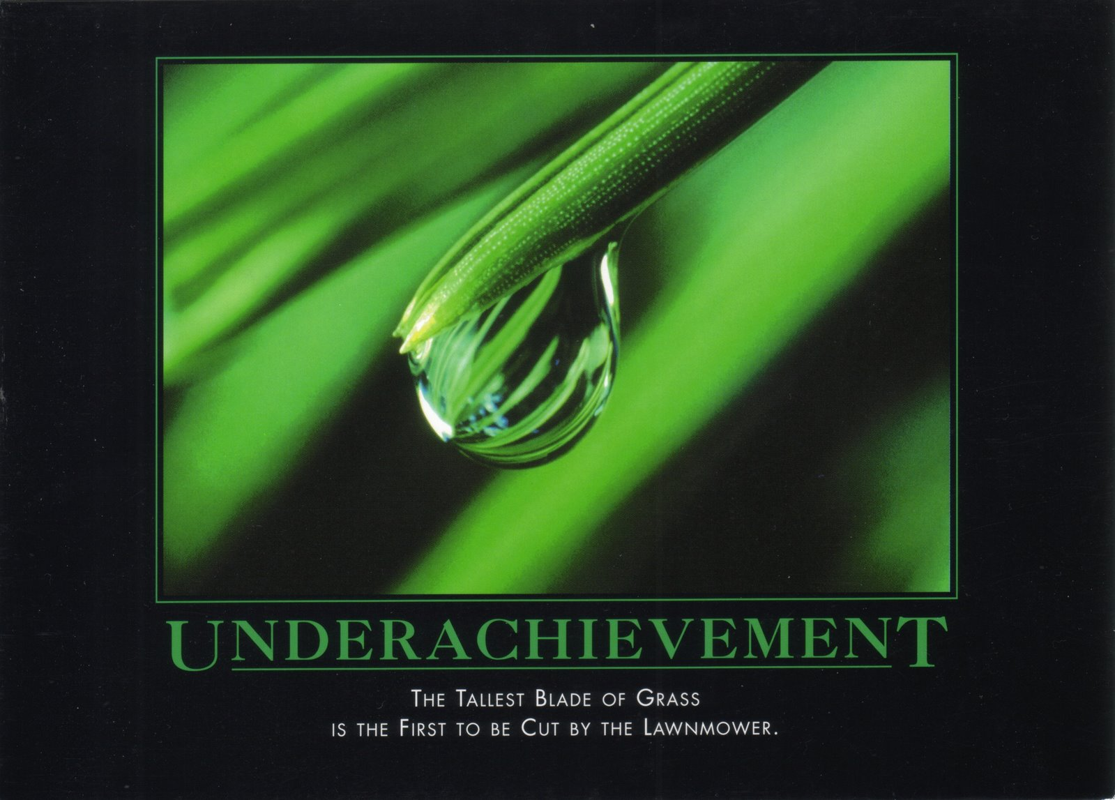 Underachievement Card Image