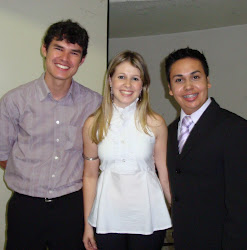 Ricardo, Fernanda e Rodrigo