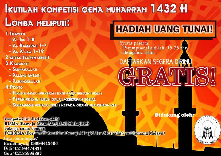 Pusat Informasi Remaja Masjid se-Cipinang Melayu