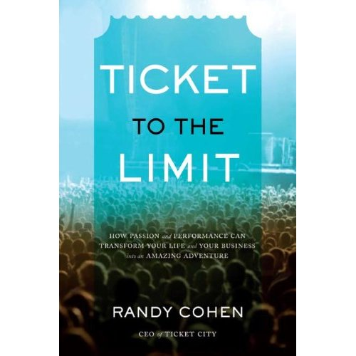 2009 november i met randy cohen at a conference called gathering of titans at mit last spring hes the ceo chief energizing officer of ticketcity a ticket brokerage fandeluxe Gallery