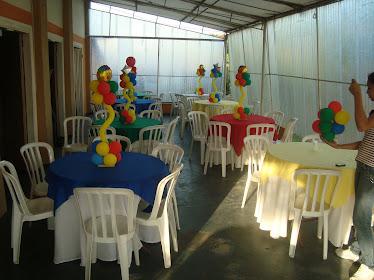 Mesas/Festa do Circo