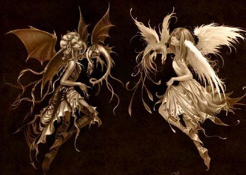 imagenes de angeles y demonios enamorados | Free HD Wallpapers