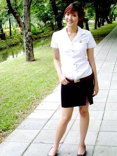 Foto Hot dan Seksi Seragam SMA Cewek Seksi di Thailand