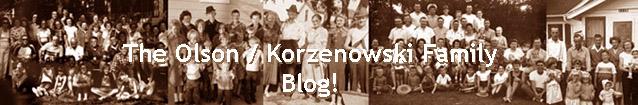 The Olson / Korzenowski Family Blog