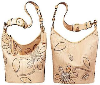 Coach Bleecker Floral Duffel, Coach handbag,