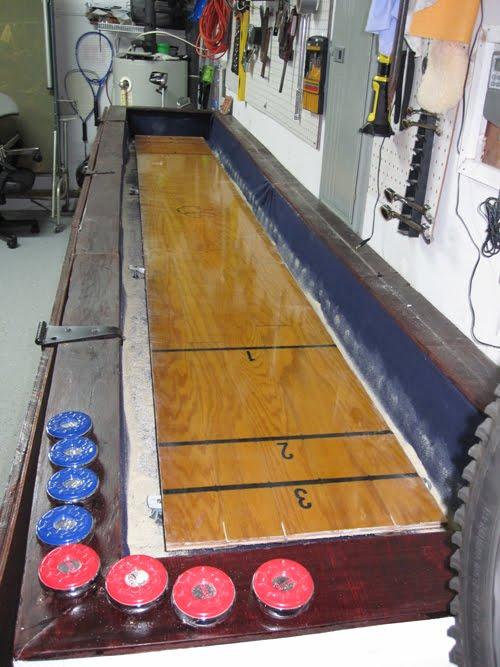 A Shuffleboard Table!