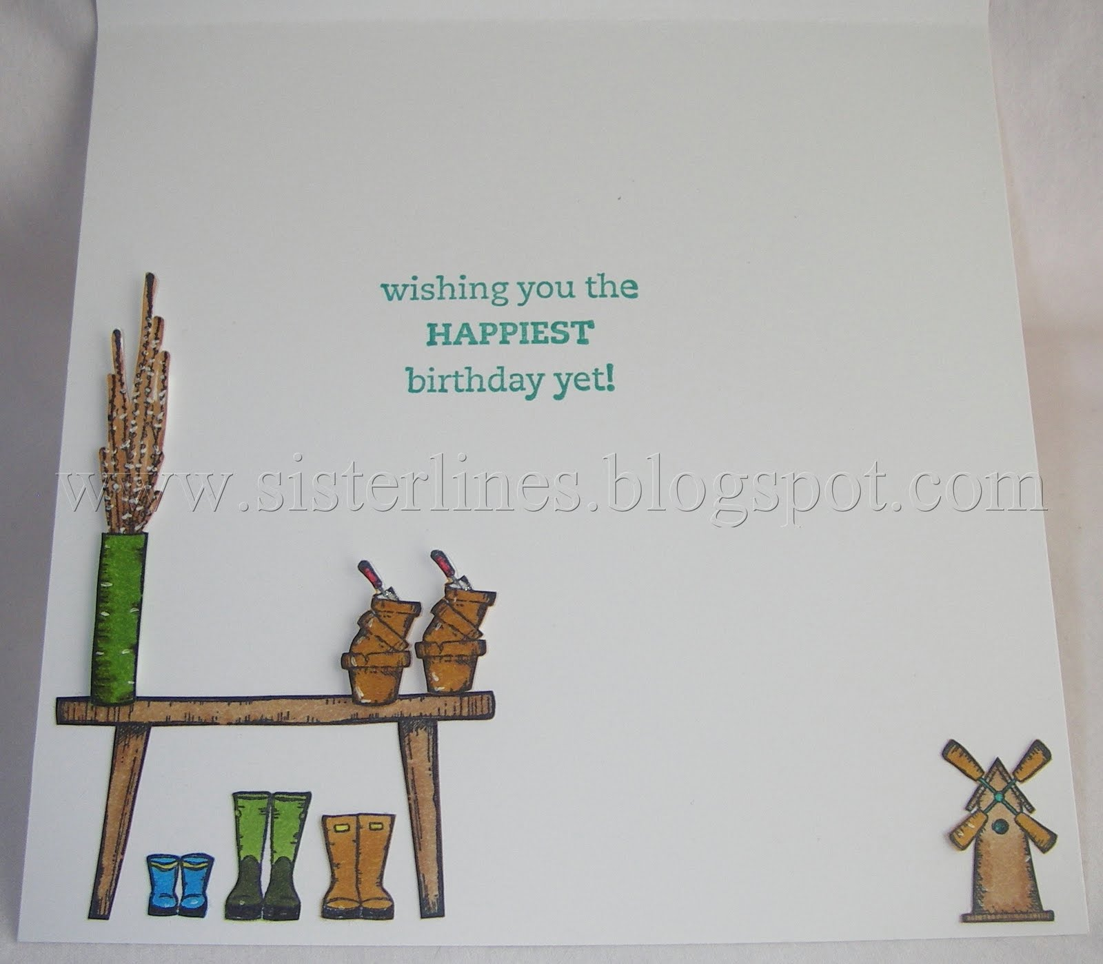 Sisterlines Space in Time 60th birthday card – How to End a Birthday Card