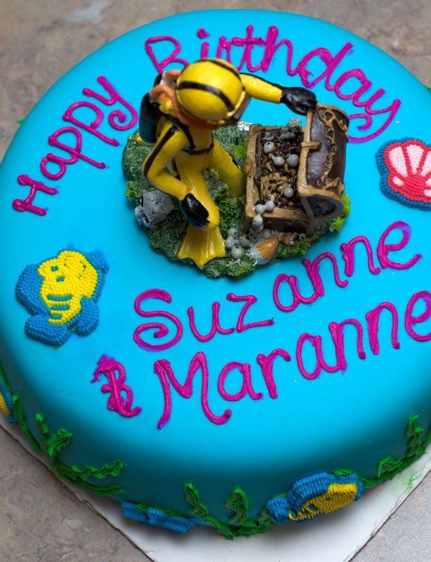 Sugar Spice by Celeste Scuba DivingUnder the Ocean Birthday Cake