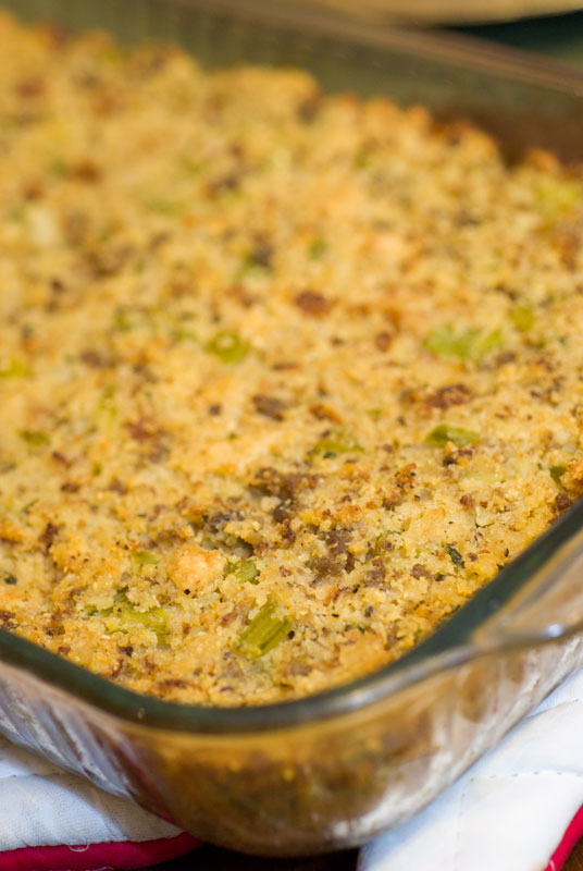 Sugar & Spice by Celeste: Classic Cornbread Dressing - Southern Living