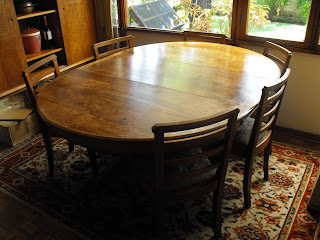 Venta muebles antiguos: Comedor (6 sillas)