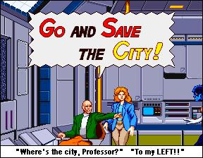 Save the City.