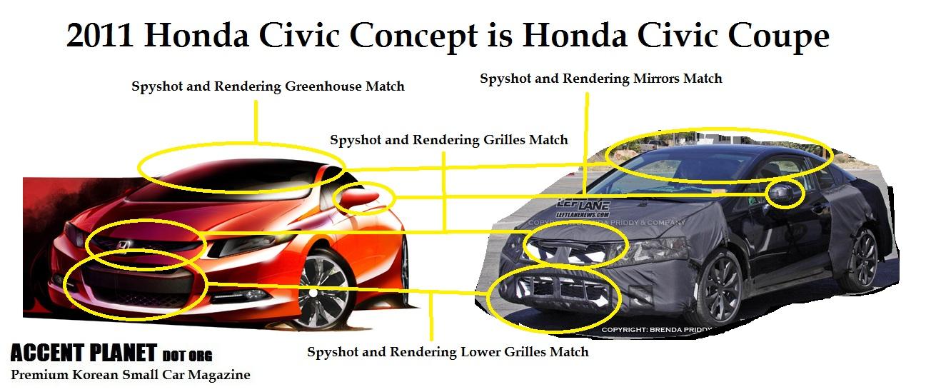Honda Civic 2012 Concept. 2011 Honda Civic Concept