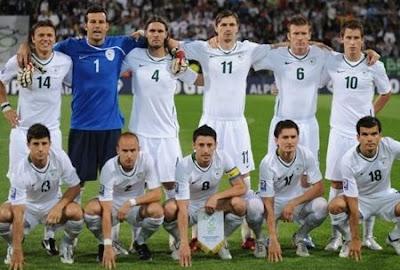 Timnas Slovenia Angkat Koper dari FIFA World Cup South Africa 2010