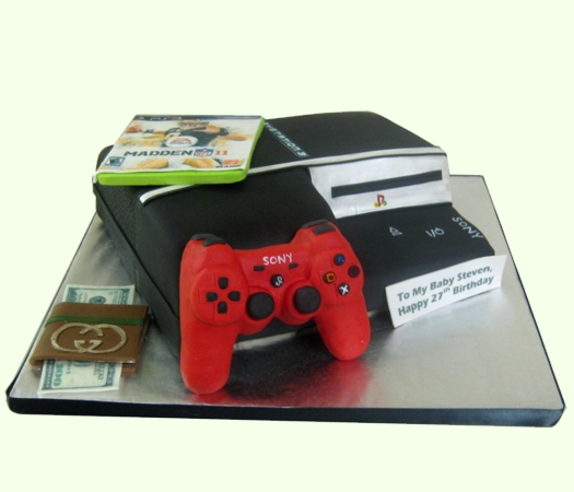 Confectionary Designs Playstation 3 Cake