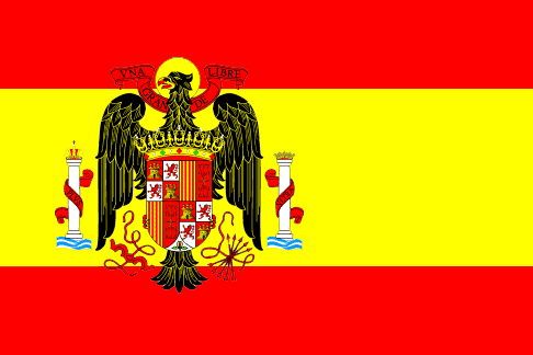 Flag Spain Franco