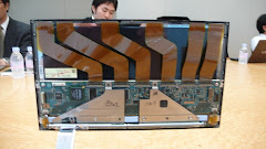 SONY OLED DISPLAY SHOWS ITS ELECTRONICS