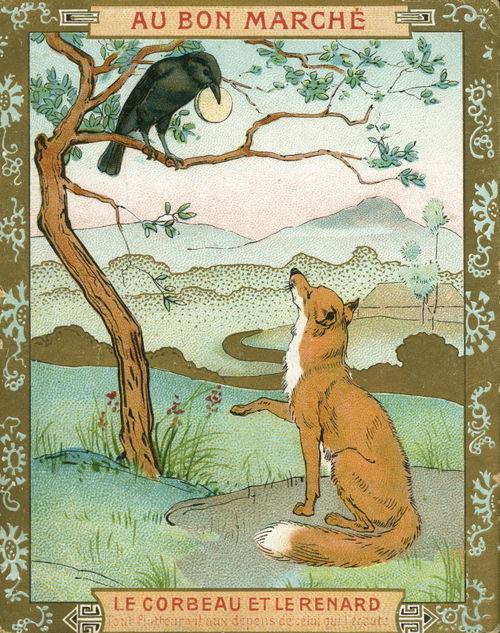 La biblioteca salvata giugno 2010 - Le renard et la cigogne dessin ...