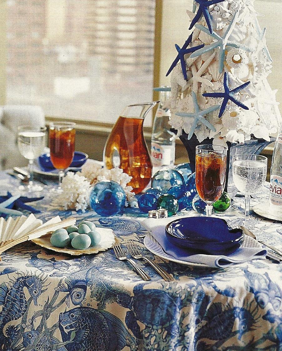 LA DOLFINA: A Sea Inspired Christmas Table