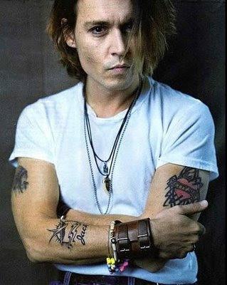 johnny depp tattoos 3
