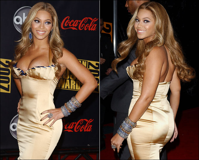 ... estimations regarding Beyonces measurements, including 34-25-40, ...