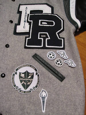 LETTERMAN JACKETS PATCHES