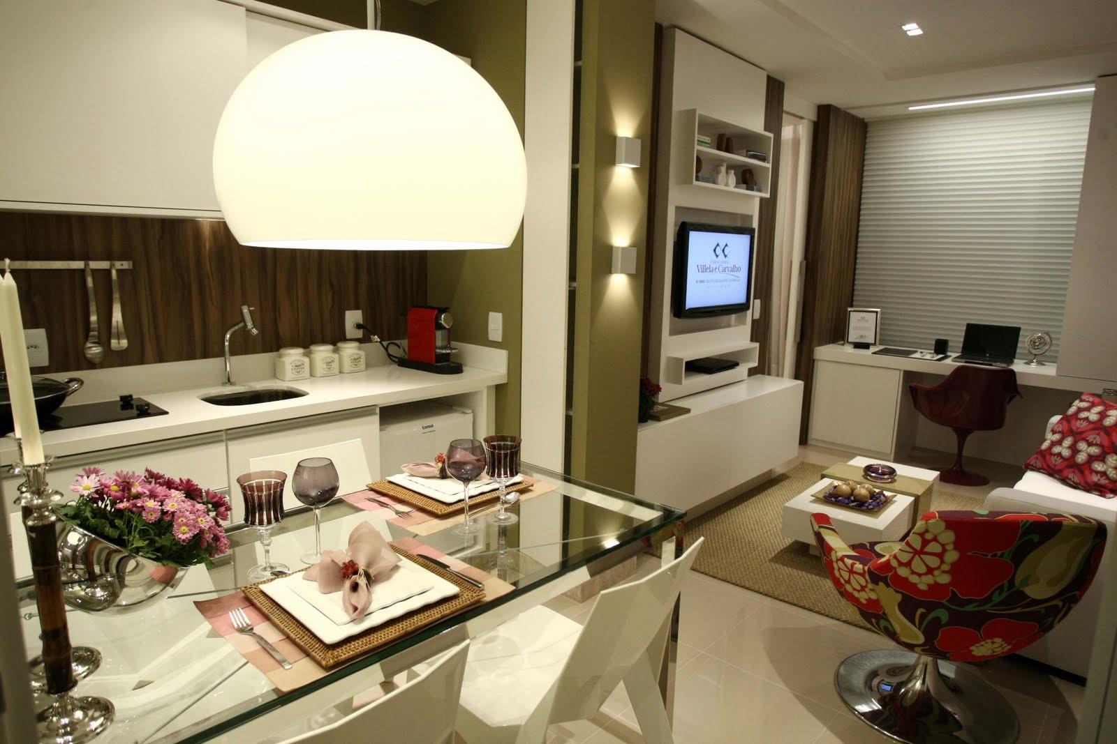 decoracao de apartamentos pequenos de luxo:Luxo Simples Assim: Denise Zuba valoriza espaço no novo