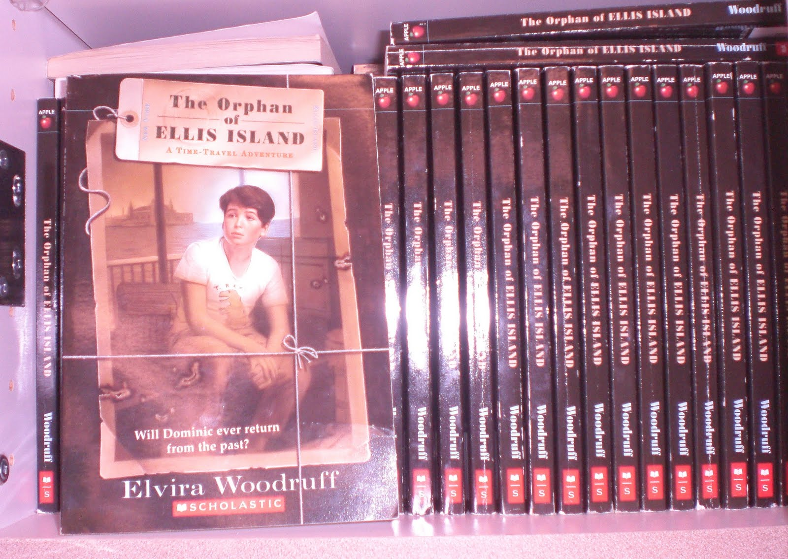the orphan of ellis island book report This unit is intended to help take your students through the novel, the orphan of ellis island by elvira woodruff i have broken the novel up into 5 sections, each that can be made into a small packet.