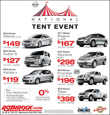 NISSAN TENT EVENT GOING ON NOW!!  sc 1 st  Rothrock Motor Sales & Rothrock Motor Sales: NISSAN TENT EVENT GOING ON NOW!!
