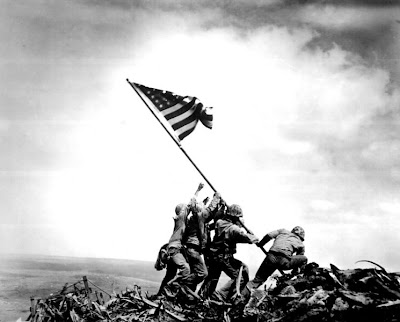Flag Raising at Iwo Jima