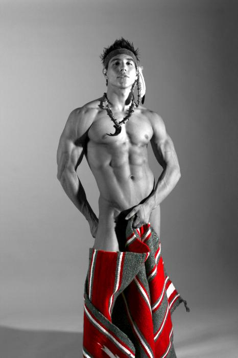 nude boys native american