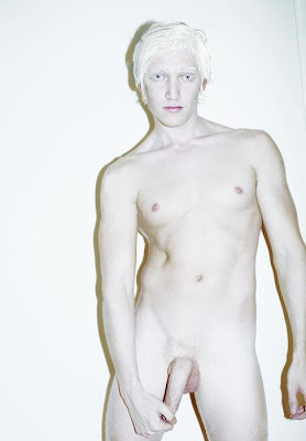 albino white woman nude