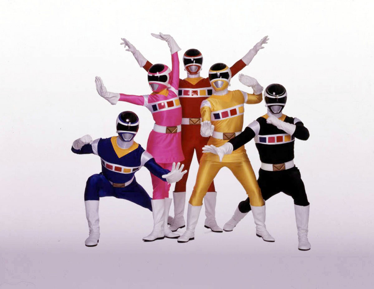 The Power Rangers