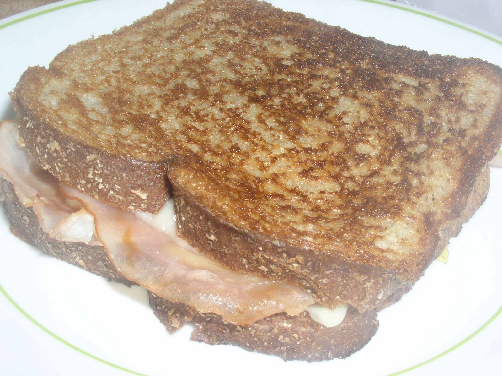 Grilled Cheese with Ham