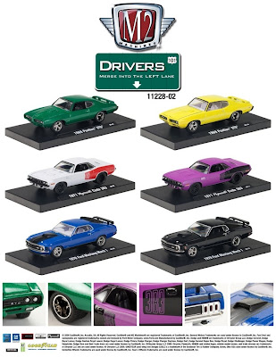Marks Diecast M2 Machines Drivers Release 2 11228-02 Sales Sheet