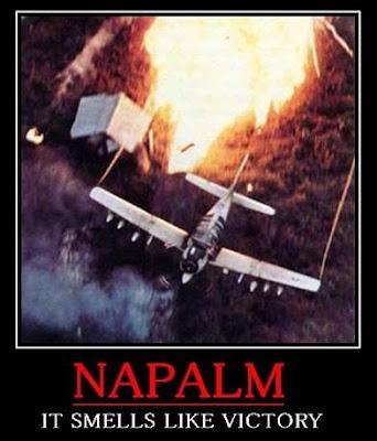 Patriot Nation USAF Motivational Poster NAPALM