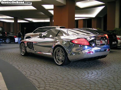 Marks Diecast Mercedes Benz White Gold