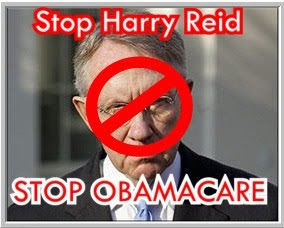 STOP! Harry Reid and His Attempt to Drive America Into Socialism Along With Barry Soetoro AKA Buttcrack Obama