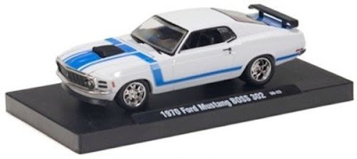 Ford Model Cars  M2 Machines 1970 Ford Mustang Boss 302 Bright White  Link To Ford Model Cars