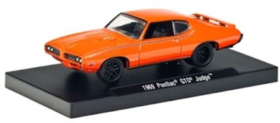 Marks-Diecast-1969 Pontiac GTO Judge Metallic Hugger Orange