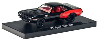 1971 Plymouth Hemi Cuda Black