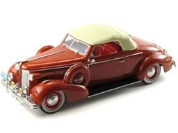 Buick Diecast Signature Models Charleston Edition No. 68641 1938 Buick Century Sedan Red Limited Edition of 2,000